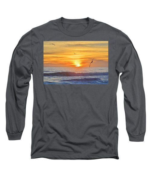 Coquina Beach Long Sleeve T-Shirt