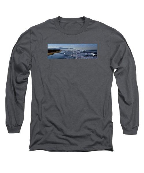 Long Sleeve T-Shirt featuring the photograph Ocean Beach San Francisco by Steve Siri