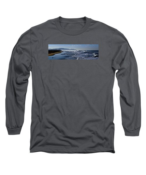 Long Sleeve T-Shirt featuring the photograph Ocean Beach San Francisco by Steve Siri