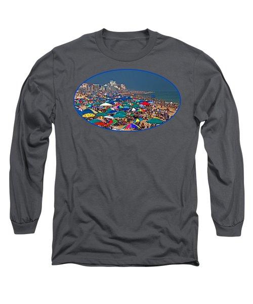 Ocean City Beach Fun Zone Long Sleeve T-Shirt