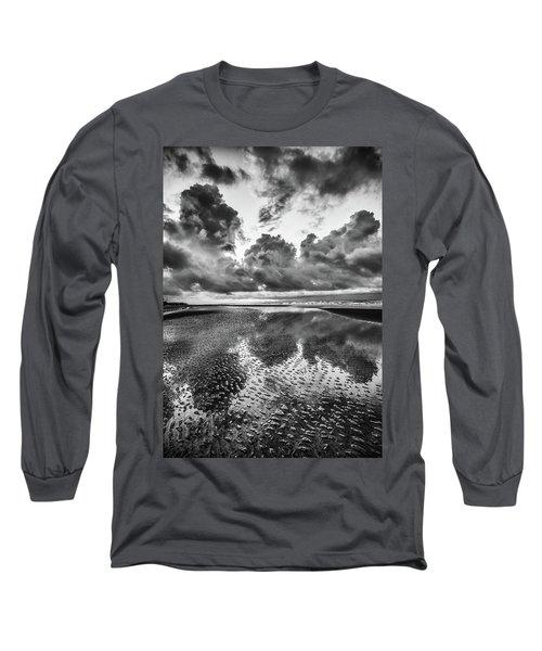 Ocean Clouds Reflection Long Sleeve T-Shirt