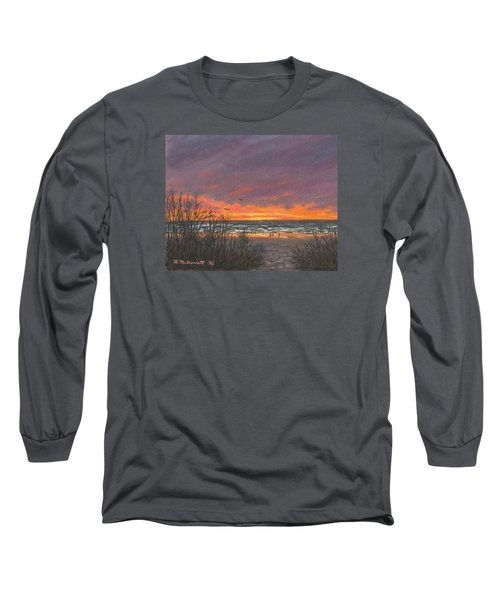 Ocean Daybreak # 2 Long Sleeve T-Shirt