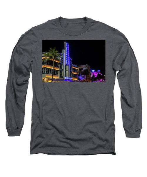 Ocean Drive Long Sleeve T-Shirt