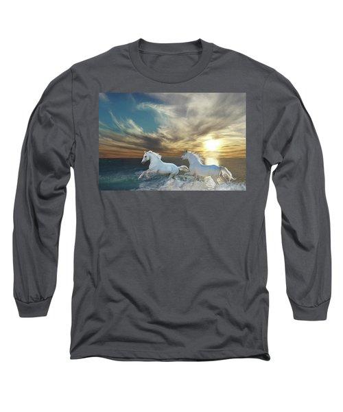 Ocean Play Long Sleeve T-Shirt