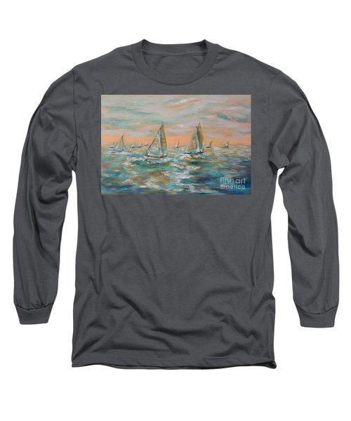 Ocean Regatta Long Sleeve T-Shirt