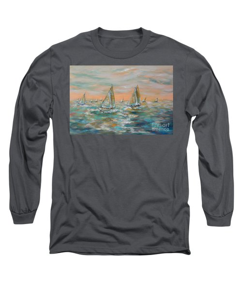 Ocean Regatta Long Sleeve T-Shirt