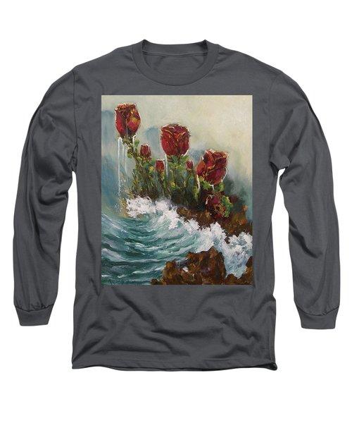 Ocean Rose Long Sleeve T-Shirt