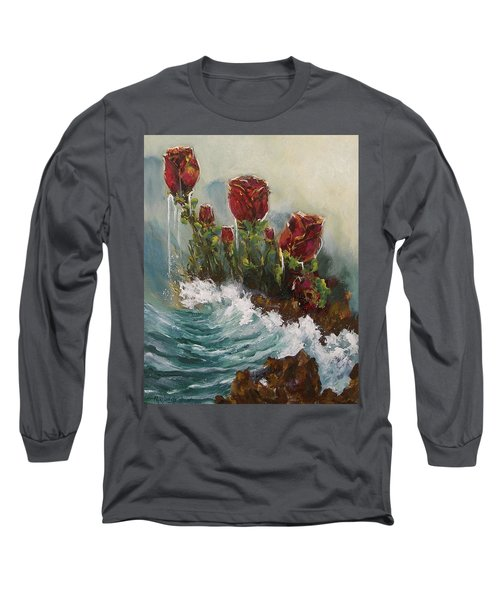 Ocean Rose Long Sleeve T-Shirt