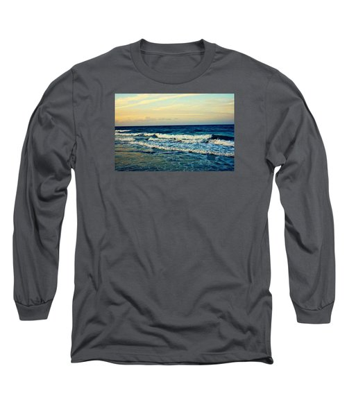 Ocean Long Sleeve T-Shirt by Artists With Autism Inc
