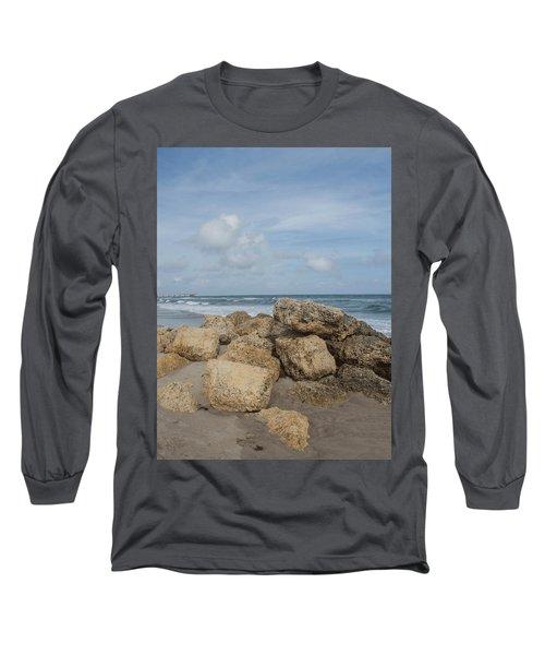 Ocean Scene Long Sleeve T-Shirt