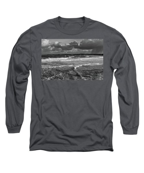 Long Sleeve T-Shirt featuring the photograph Ocean Storms by Nicholas Burningham