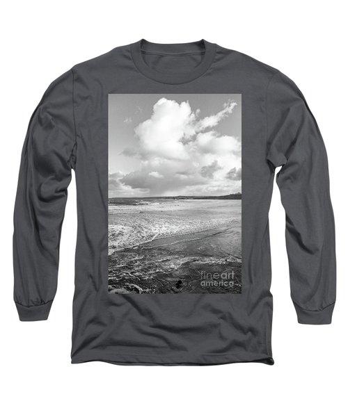 Long Sleeve T-Shirt featuring the photograph Ocean Texture Study by Nicholas Burningham