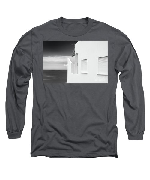 Ocean View White House Long Sleeve T-Shirt