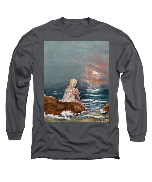 Oceanic Relaxation Long Sleeve T-Shirt