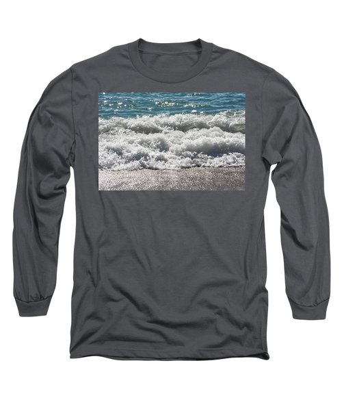 Long Sleeve T-Shirt featuring the photograph Oceans Layers by Colleen Coccia