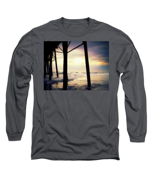 Long Sleeve T-Shirt featuring the photograph Oceanside - Late Afternoon by Glenn McCarthy