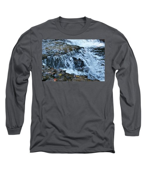 Ocqueoc Falls_9542 Long Sleeve T-Shirt by Michael Peychich