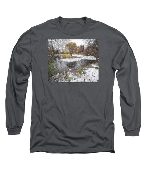 Long Sleeve T-Shirt featuring the photograph October 2 by Vladimir Kholostykh