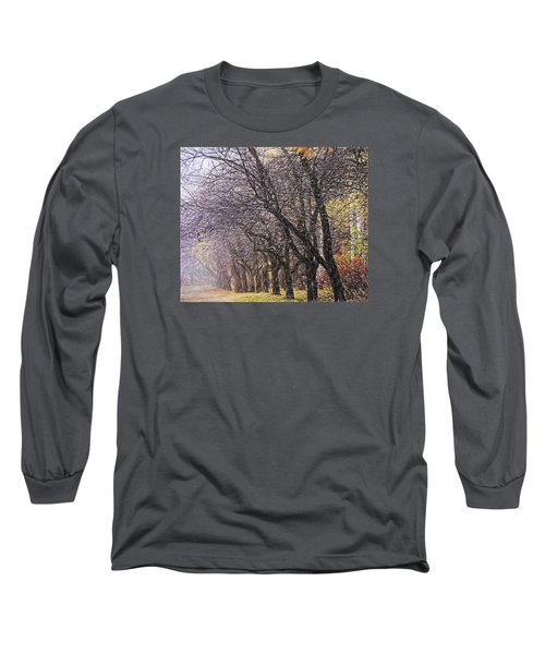 Long Sleeve T-Shirt featuring the photograph October 3 by Vladimir Kholostykh