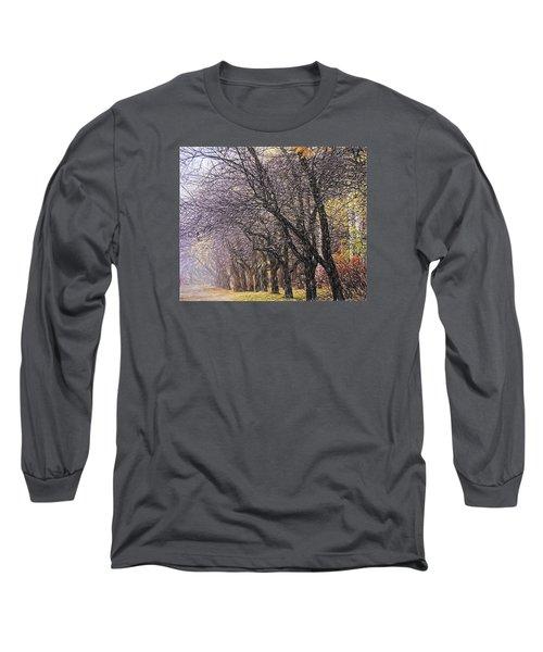 October 3 Long Sleeve T-Shirt by Vladimir Kholostykh