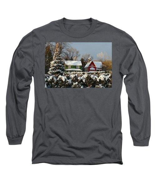 October Snow Long Sleeve T-Shirt