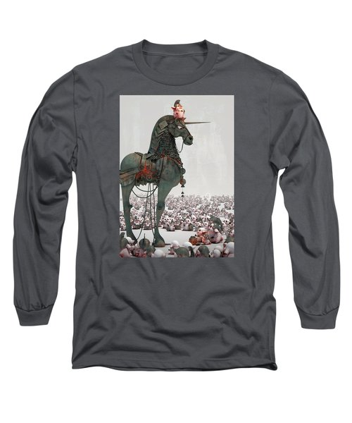 Offering Long Sleeve T-Shirt by Te Hu
