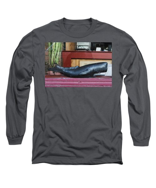 Office Whale Long Sleeve T-Shirt
