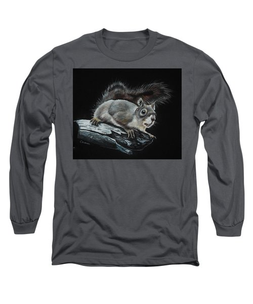 Oh Nuts  Long Sleeve T-Shirt by Jean Cormier