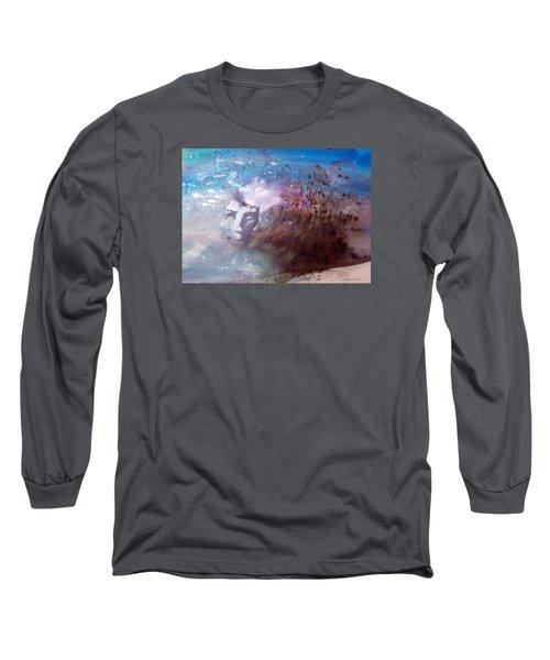 Okanokumo Long Sleeve T-Shirt by Ed  Heaton
