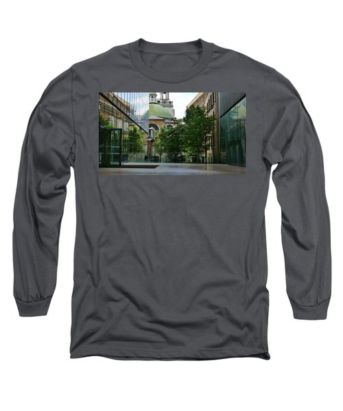 Old And New Buildings In London Long Sleeve T-Shirt