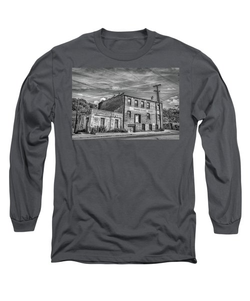 Old Asheville Building Long Sleeve T-Shirt