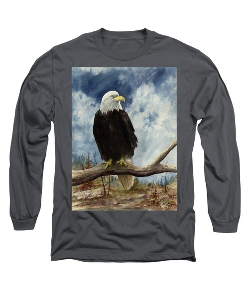 Old Baldy Long Sleeve T-Shirt by Sam Sidders