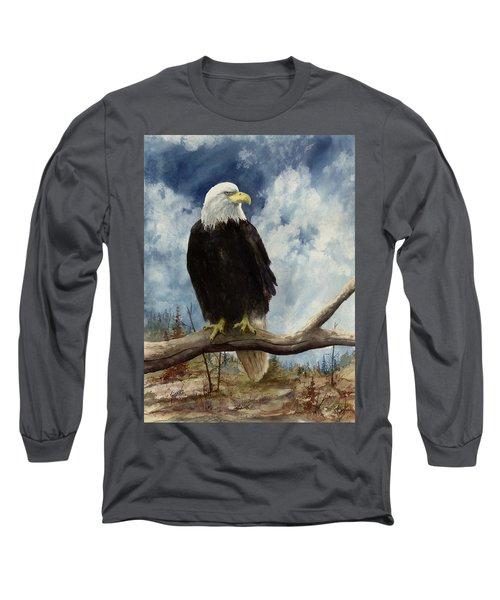Old Baldy Long Sleeve T-Shirt
