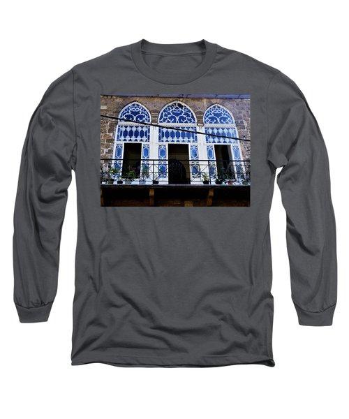 Old Beirut Home  Long Sleeve T-Shirt