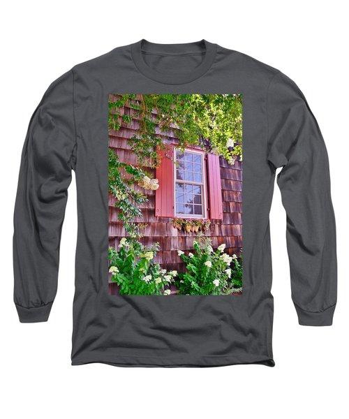 Old Bethel Church Window Long Sleeve T-Shirt