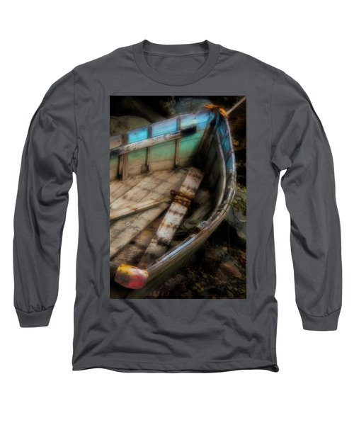 Old Boat 2 Stonington Maine Long Sleeve T-Shirt