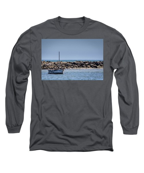 Old Boat - Half Moon Bay Long Sleeve T-Shirt