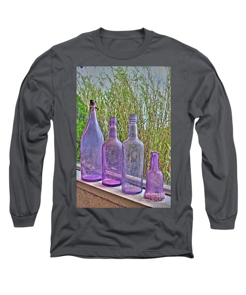 Old Bottle Collection Long Sleeve T-Shirt