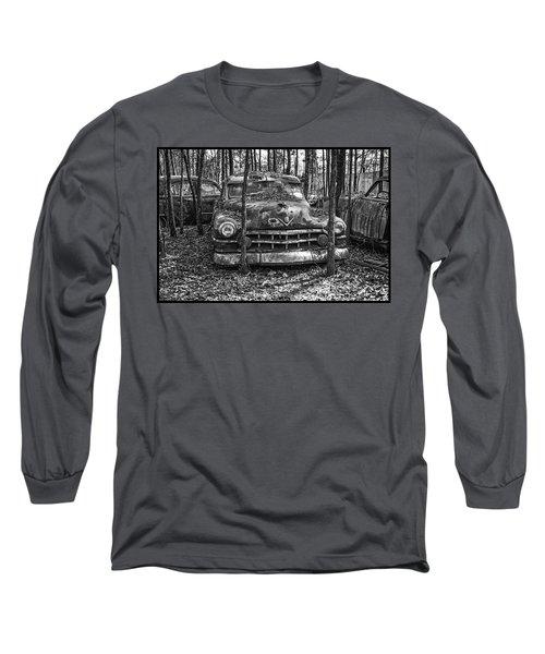 Old Cadillac Long Sleeve T-Shirt