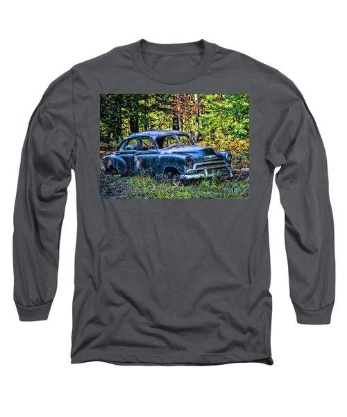 Old Car Long Sleeve T-Shirt by Alana Ranney