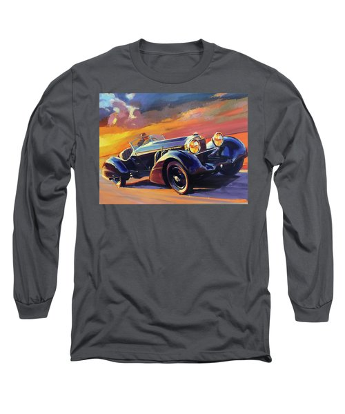 Old Car Racing Long Sleeve T-Shirt