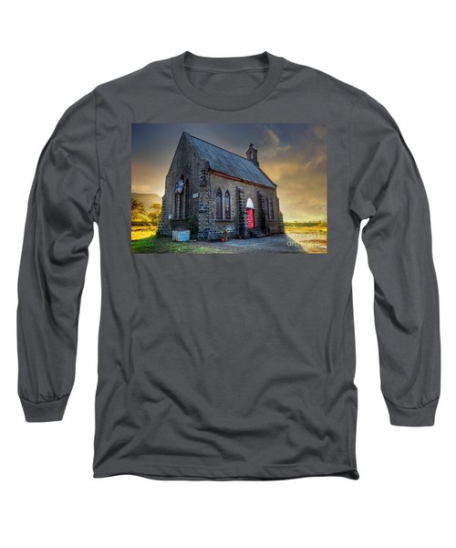 Old Church Long Sleeve T-Shirt by Charuhas Images