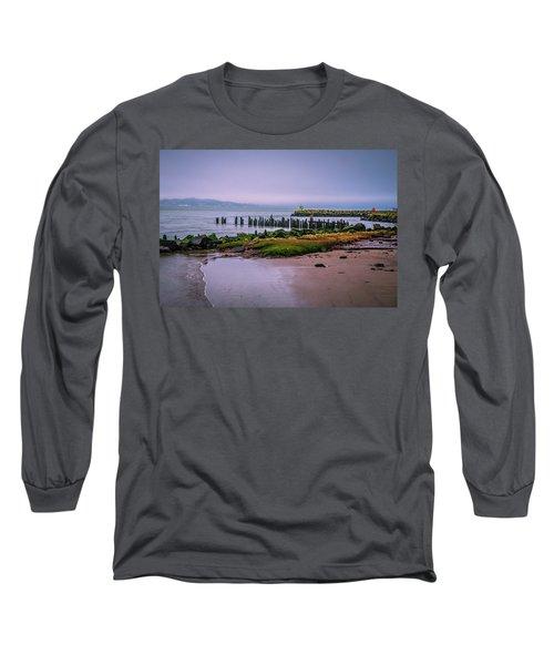 Old Columbia River Docks Long Sleeve T-Shirt