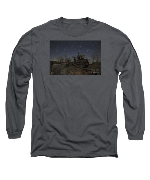Old Contry Thrasher Long Sleeve T-Shirt by Keith Kapple