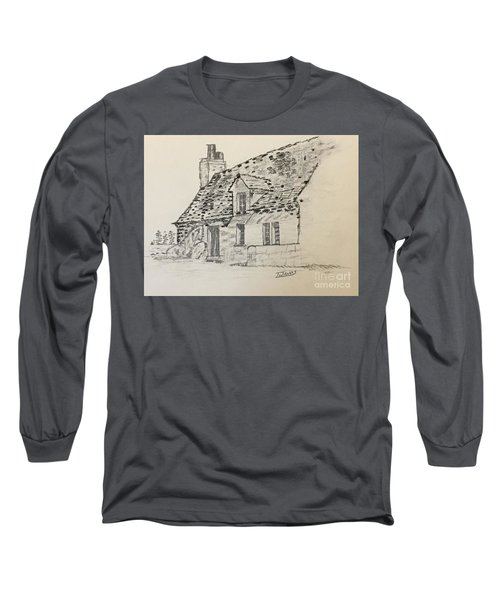 Old Cottage Long Sleeve T-Shirt