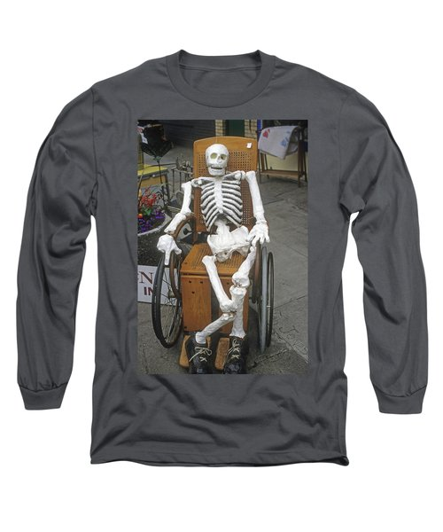 Old Deadheads Never Die Long Sleeve T-Shirt