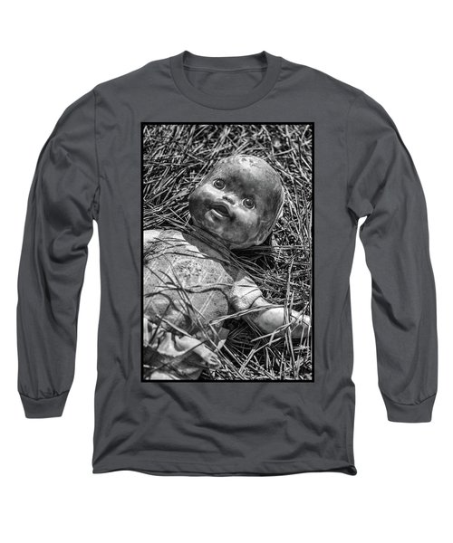 Old Dolls In Grass Long Sleeve T-Shirt
