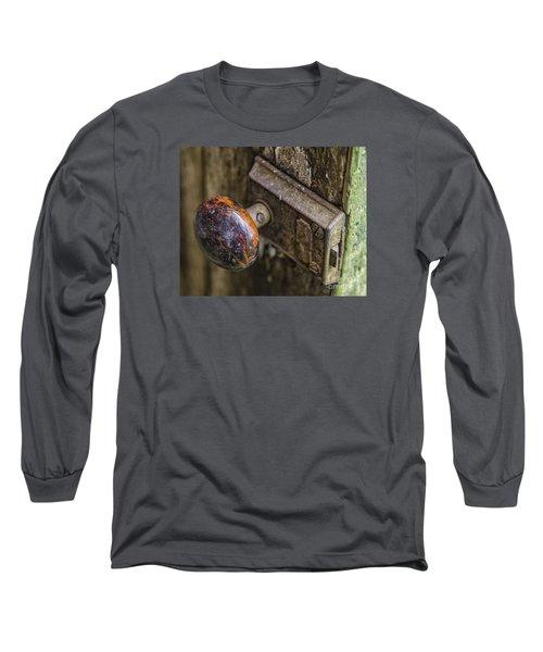 Old Door Knob Long Sleeve T-Shirt