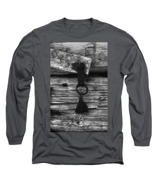 Old Door Latch Long Sleeve T-Shirt