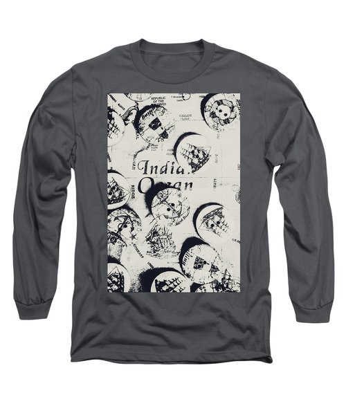 Old East India Trading Routes Long Sleeve T-Shirt